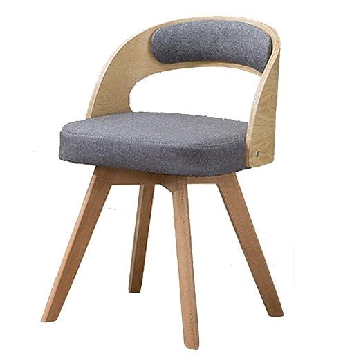 Sillón nórdico 360 ° de rotación/Silla de Comedor/sillón ...