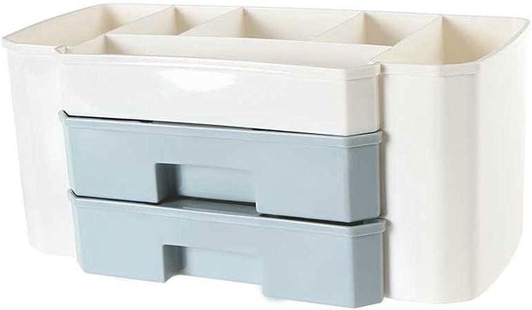 LDG Escritorio Organizador Maquillaje, con Cajones Caja Almacenamiento para Casa Cocina Oficina Dormitorio Baño (Color : A): Amazon.es: Hogar
