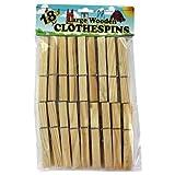 72 Wooden clothespins