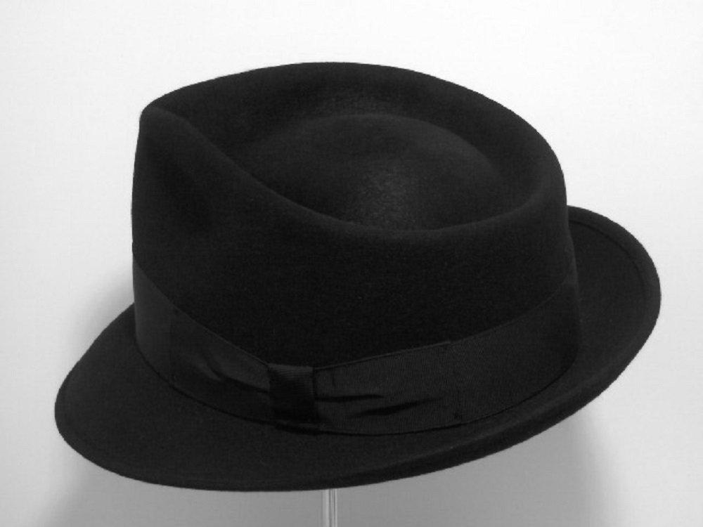 444b4df02f143 Amazon.com  Bogart hat Melegari fur rabbit felt brim 5 cm  Handmade