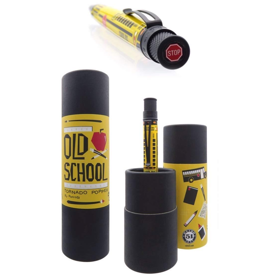 Retro 51 Tornado Popper Rollerball Pen Old School