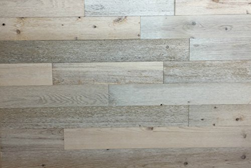 Timberchic DIY Reclaimed Wooden Wall Planks - Simple Peel and Stick Application. (20 Sq. Ft.) (3