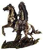 Sale - Chief Sitting Bull Native American Indian Statue