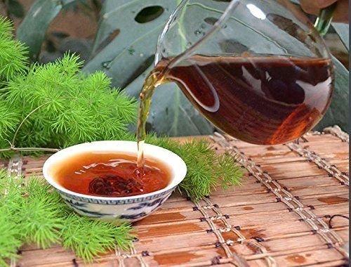 Pu Erh Black Tea, Grade A Fermented Puer Tea 1428 Grams Tea Cake Bag Packing