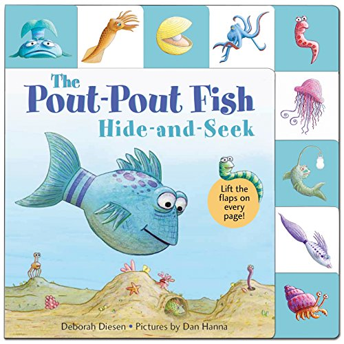 Book cover from Lift-the-Flap Tab: Hide-and-Seek, Pout-Pout Fish (A Pout-Pout Fish Novelty) by Deborah Diesen