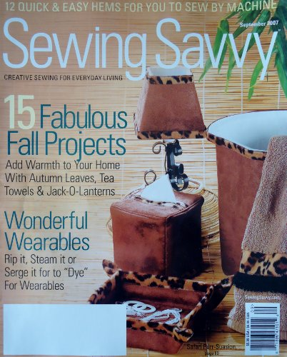 (Clotilde's Sewing Savvy September 2007)