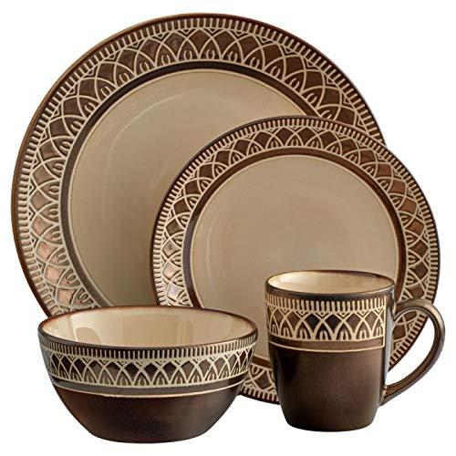 Gourmet Basics KingstonDinnerware Set (16 Piece)