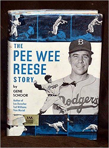 0a602161e The Pee Wee Reese story  Gene Schoor  Amazon.com  Books