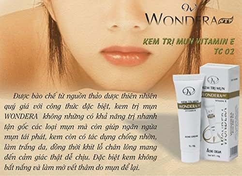 03 box20g - Kem trị mụn Wondera thảo dược đặc trị mụn