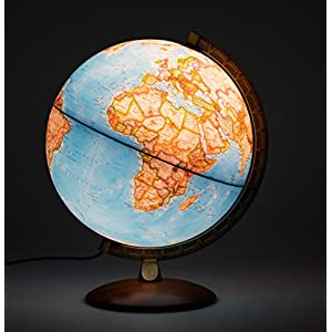 Globo terráqueo Iluminado National Geographic, 30cm, Idioma Español