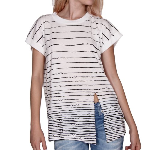 55DSL by Diesel Juniors Tietie T-Shirt, Off-White, Medium (55dsl T-shirt)