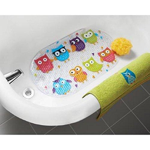 Mainstays Whooty Owl Bathtub Mat (Bathroom Accessories Owl)