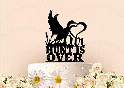 Hunt is Over Wedding Cake (The Hunt Is Over Wedding)