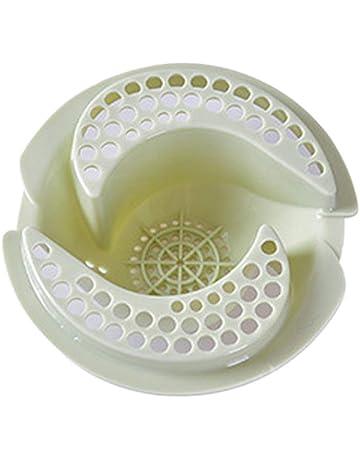 Mioloe Fregadero de plástico de cocina tapón del tamiz 11cm
