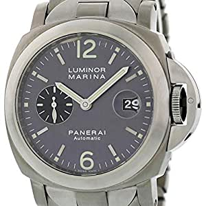 Panerai Luminor Automatic-self-Wind Male Watch PAM00091 (Certified Pre-Owned)