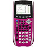 Texas Instruments TI-84 Plus C Silver Edition Graphing Calculator, Pink