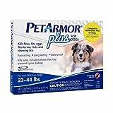 1 Yr Supply PetArmor Plus, Dog, 23-44 lbs