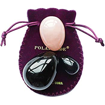 Amazon Com Yoni Eggs 3 Pcs Set With 3 Sizes 2 Gemstones