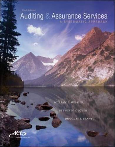 MP Auditing & Assurance Services w/ ACL Software CD-ROM: A Systematic Approach (Mp Service Management compare prices)