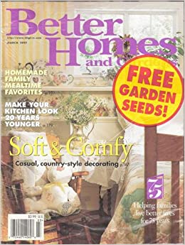 Better homes and gardens magazine march 1997 vol 75 no 3 jean ed lemmon Better homes and gardens march