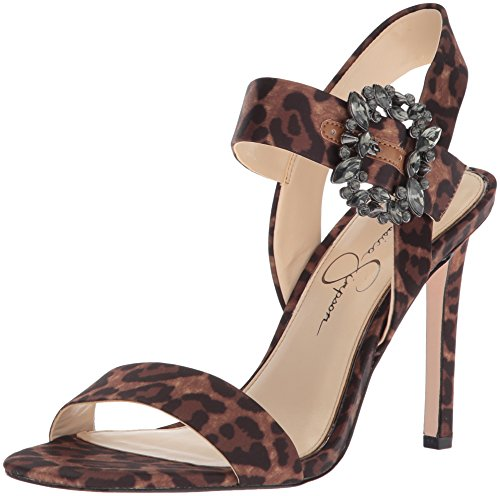 Jessica Simpson Women's BINDY Heeled Sandal, Natural, 5.5 Medium US