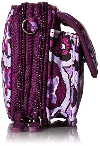 Lilac RFID Paisley All One in Vera Cotton Crossbody Bradley Signature pWK7THg6c