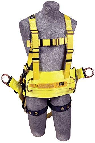 3m DBI-SALA 1106108Delta espalda, anilla de extensión, D-Ring cinturón con Pad/parte posterior de asiento Sling con...
