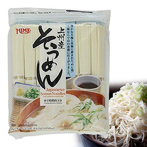 Somen Noodles - Hime Japanese Dried Somen Noodles, 28.21-Ounce