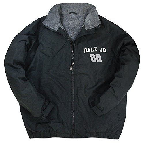 Dale Earnhardt Jr #88 NASCAR Fleece Lined Zip Front Jacket (medium)