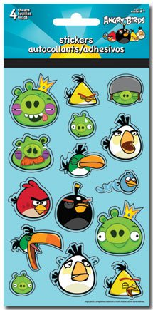 Angry Birds Standard Stickers