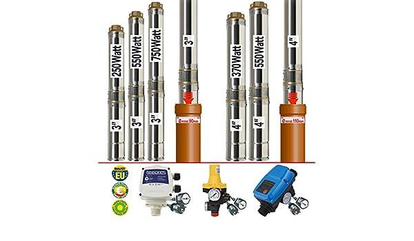 Bomba DE Agua Sumergible - Bomba para Pozo - Star 550-7 (3