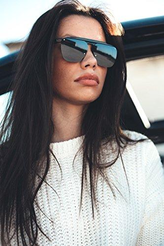 Gafas mujer sol TWIG degradadas hombre FOUCAULT de Azul Degradado espejo Negro q4qw7SO