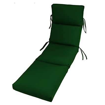 Sunbrella Outdoor Channeled Chaise Cushion By Comfort Classics Inc