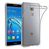 "Huawei Nova Plus Case, EasyAcc Huawei Nova Plus 5.5"" Soft TPU Case Crystal Clear Transparent Slim Anti Slip Case Back Protector Cover for Huawei Nova Plus"