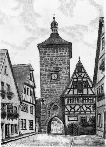 single rothenburg