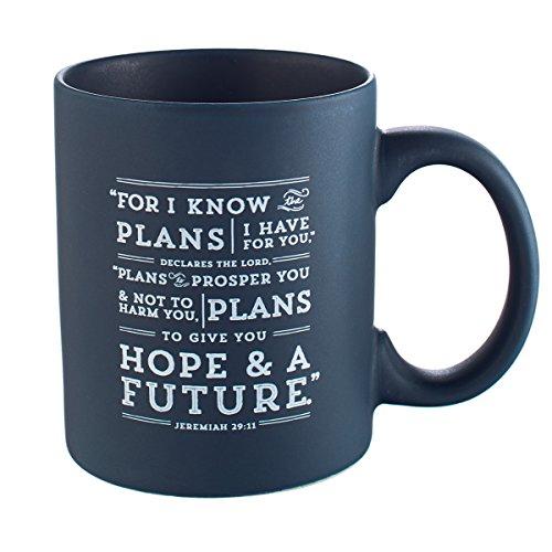 Deep Blue Jeremiah 29:11 Mug
