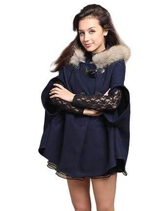Veste bleu electrique femme