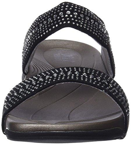 Xti Femme Sandales Black 47951 Ouvert Noir Bout xpw7Cq4T