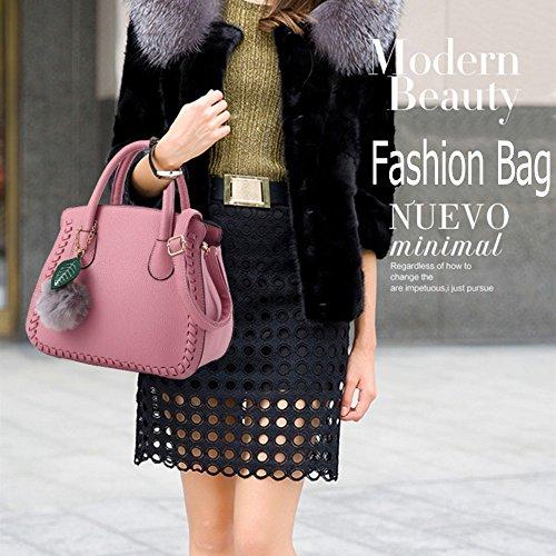 Mode Simple à Filles Sacs a Sac gris Pour main Sac clair main d'épaule Femme 6qFCAw