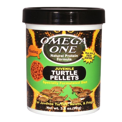 51cs1y4JwZL - Omega One Juvenile Turtle Pellets 3.5oz