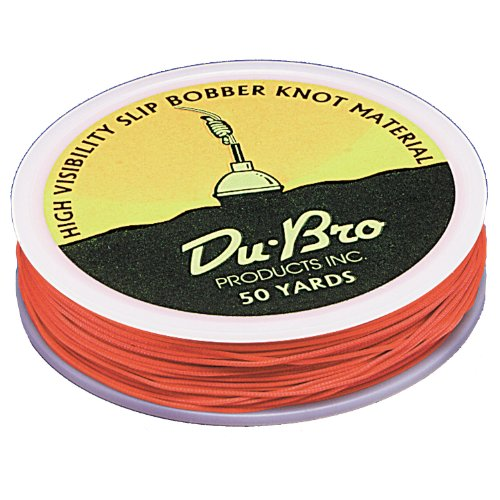 DU-BRO Fishing Replacement Slip Bobber Knot Line, Orange Review