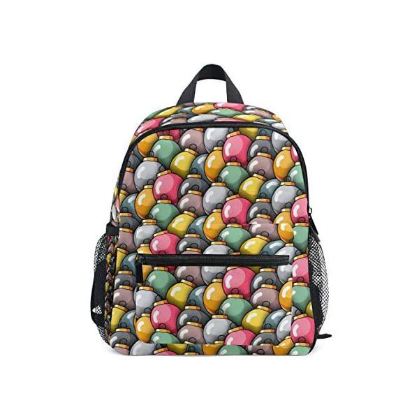 Natale Kid Zaino Scuola Bookbag Bambini Viaggio Daypack Ragazza Ragazzo 3-8 Anni Bambino Prescolare 1 spesavip