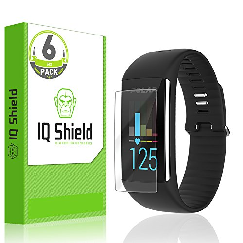 IQ Shield Screen Protector Compatible with Polar A360 (6-Pack) LiquidSkin Anti-Bubble Clear Film