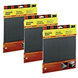 600 Wet-Or-Dry Sandpaper 5 Sheets per pack (3 Pack)
