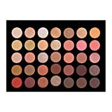 Crown Brush Rose Gold Eyeshadow Palette - 35RG