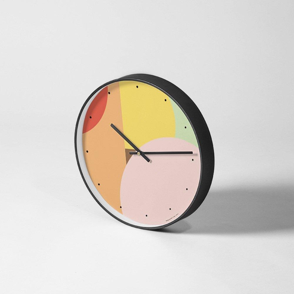 アートウォールクロックリビングルームミュート現代的な創造的な掃引目覚し時計クオーツ時計、パーソナリティタイムクロック (色 : #7) B07DSX67KW #7 #7