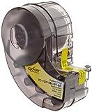 Brady High Adhesion Vinyl Label Tape (XC-1000-595-WT-BK) - Black on White Vinyl Film - Compatible with IDXPERT and LABXPERT Label Printers - 30' Length, 1'' Width