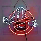 Ghostbuster Real Glass Beer Bar Pub Dispaly neon sign19x15
