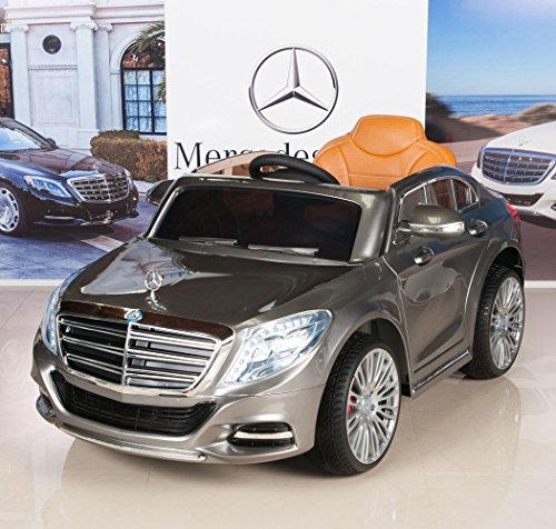 Mercedes benz s600 12v kids ride on battery powered wheels for Mercedes benz car battery