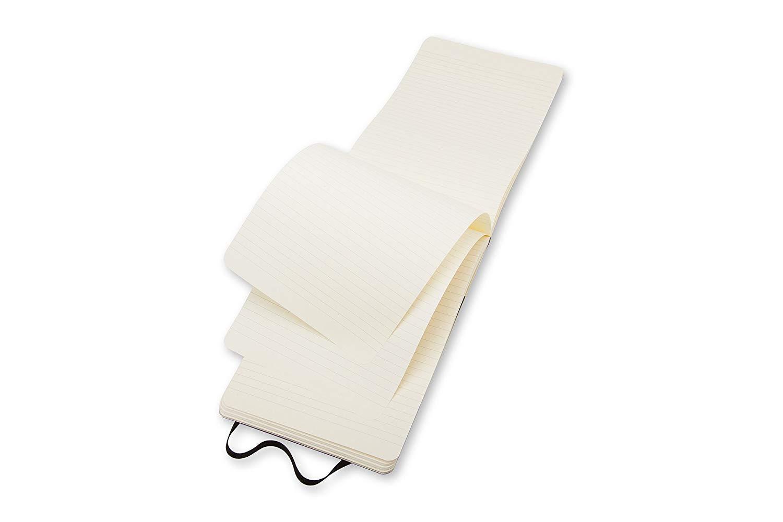 Pack of 3 Moleskine Reporter Notebook, Large, Ruled, Black, Soft Cover (5 x 8.25) (Reporter Notebooks) by Moleskine (Image #3)